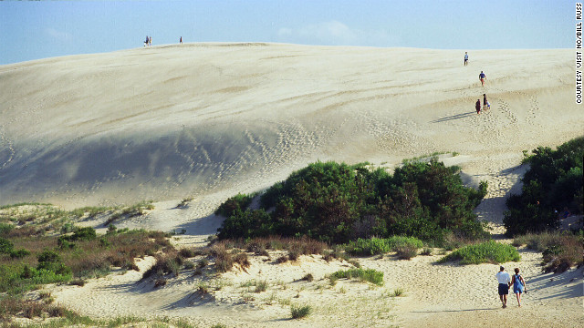 Tackle Jockey's Ridge in the Outer Banks.