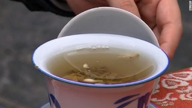 Pricey panda poo tea debuts in China