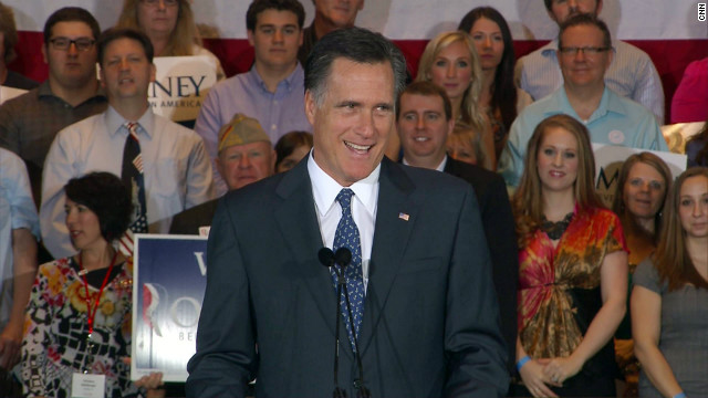How did Romney win Illinois?