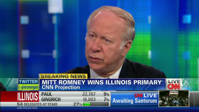 Gergen: Santorum is 'tired'