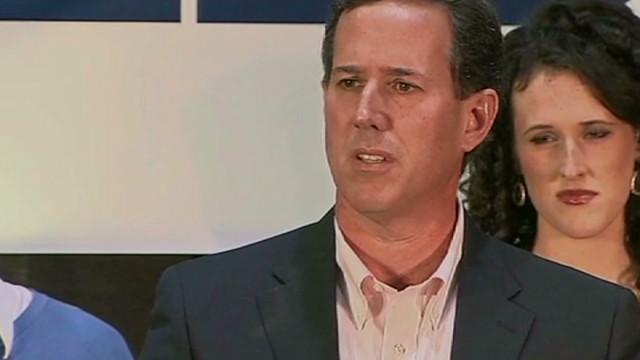 Santorum: Romney adopting my themes