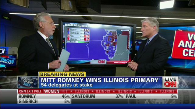 Romney captures key Illinois areas to win