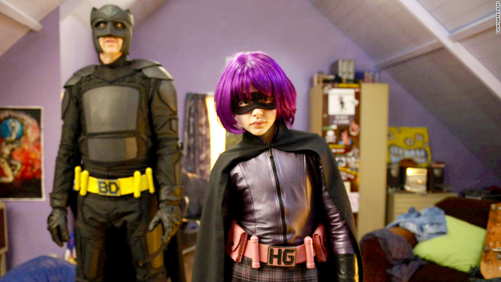 "While most of ""Kick A**"" (2010) focuses on the title character, Chloe Moretz's portrayal of Hit-Girl, the violent and cussing 11-year-old vigilante, raised eyebrows and brought recognition to the young actress. For her breakthrough performance, Moretz went on to receive many award nominations and won some of them."
