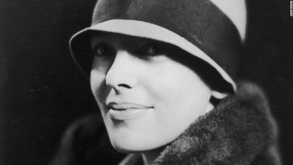 A portrait of Amelia Earhart, circa 1935.
