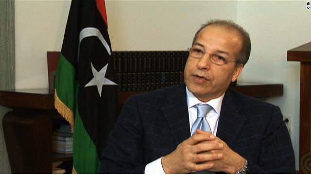 Saddek Omar Elkaber, governor of the Libyan Central Bank, talks to CNN about restarting Libyan economy.