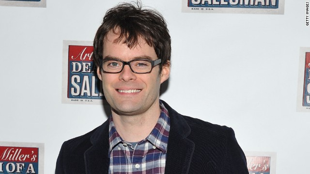 "Bill Hader is nominated for an Outstanding Supporting Actor in a Comedy Series Emmy for ""Saturday Night Live."""