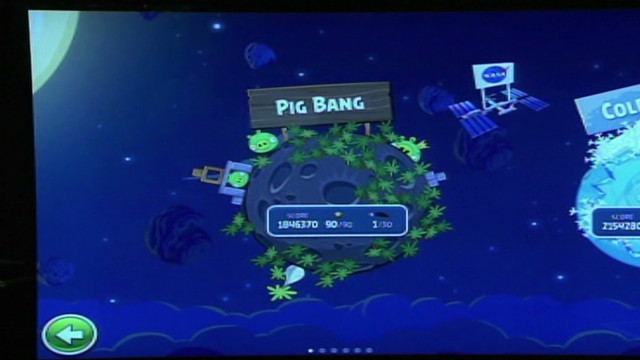 'Angry Birds' soar into space