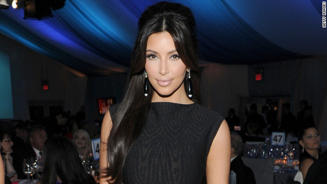 Reality star and entrepreneur Kim Kardashian has designs on political office.