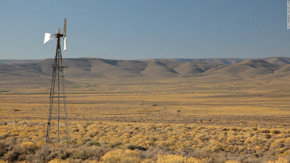 Under the plans, the drilling will be done just outside the town of Sutherland in the Karoo, one of the most remote and beautiful places in South Africa.
