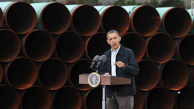 Obama puts oil pipeline to Gulf Coast on fast track