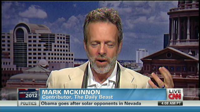 McKinnon: Aide gaffe 'problematic'