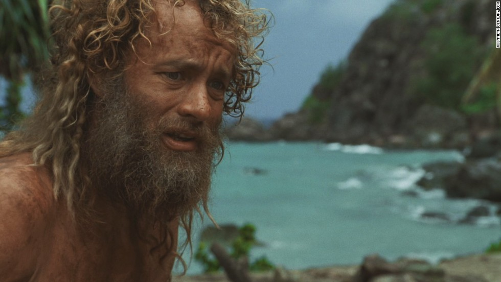 "Working for freight companies like FedEx may mean lots of travel, but if your plane goes down in the South Pacific, that's not always enjoyable. In <strong>""Cast Away""</strong> (2000), Chuck Noland (Tom Hanks) has to find food and battle loneliness, the latter with a volleyball he names Wilson, before he makes it back home to the United States.<em> Lesson:</em> Sometimes getting away from it all means more than you imagine."