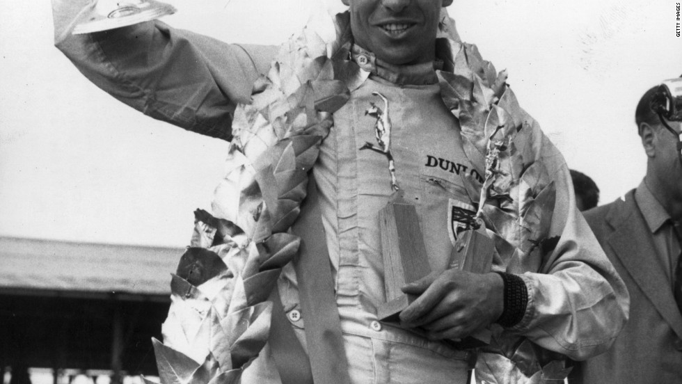 British racer Clark won Lotus' first championship in 1963. He clinched the drivers' crown again 1965, but sadly died after a fatal crash at Hockenheim in Germany in 1968.
