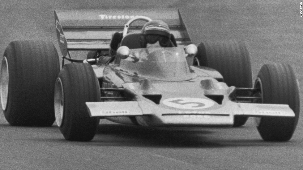 Germany-born Austrian driver Jochen Rindt holds a unique position within Formula One history. He won the drivers' championship in 1970, despite passing away after a crash at Monza midway through the season.