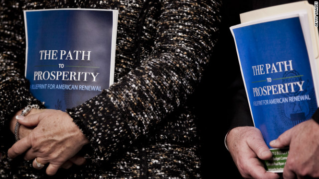 "House Republicans introduced a new budget plan this week called ""The Path to Prosperity."""