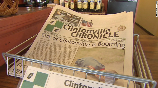 The mysterious shaking in Clintonville, Wisconsin, has dominated the news in the small city.