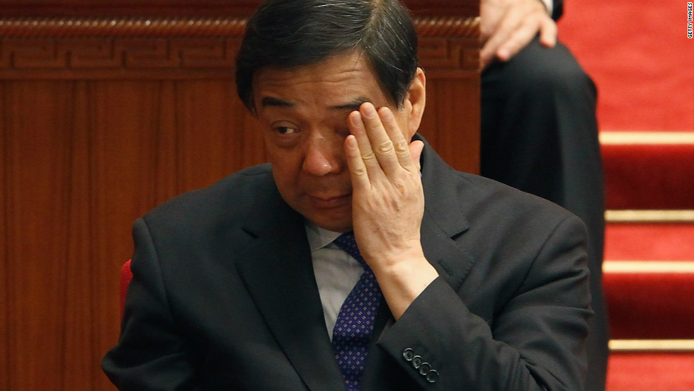 <strong>3. Bo Xilai </strong>The former leader of Chongqing, in southwest China, fell from grace in one of China's biggest political scandals. His wife Gu Kailai was convicted of the murder of British businessman Neil Heywood, who was found dead in a hotel room in Chongqing in November 2011.Bo, who had previously been expected get into the Politburo's nine-member standing committee, was expelled from the Communist Party causing a political scandal.