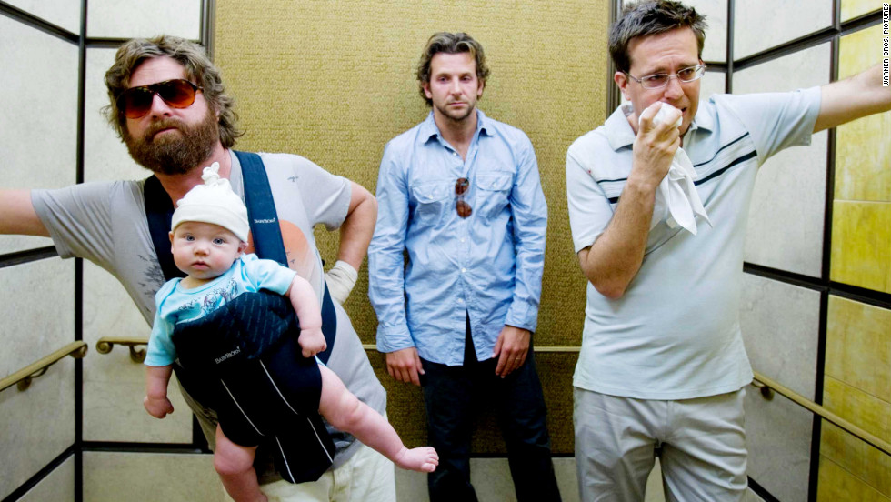 """The Hangover"" (2009) spawned two equally intoxicating sequels. Zach Galifianakis, Bradley Cooper and Ed Helms star."