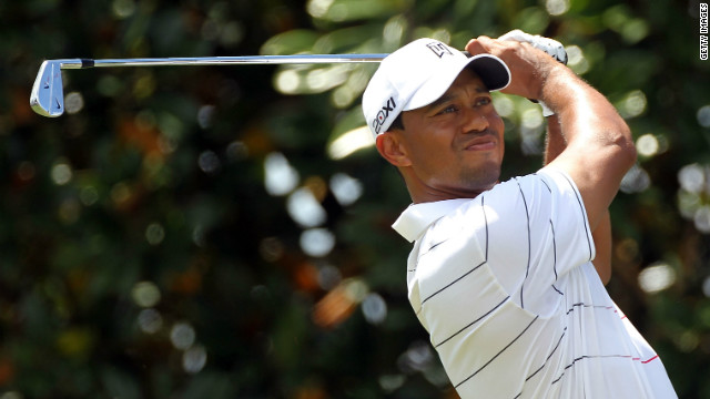 Tiger Woods was in breathtaking form as he stormed to the top of the Bay Hill leaderboard.