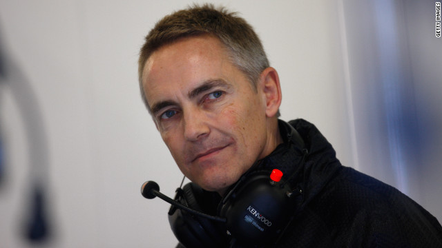 Martin Whitmarsh replaced Ron Dennis as McLaren team principal in March 2009.