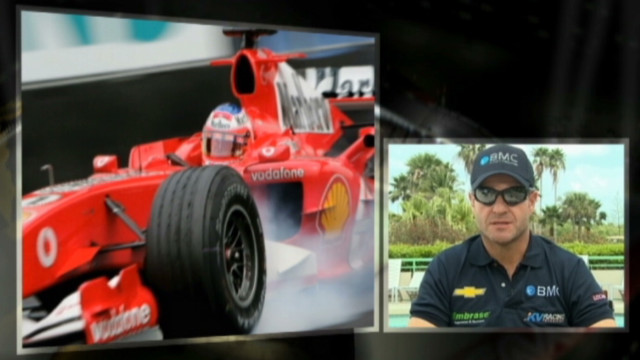 Rubens Barrichello makes IndyCar debut
