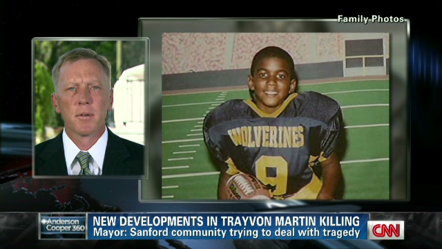 Sanford mayor on Trayvon Martin case
