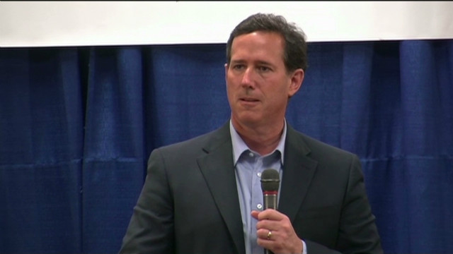Santorum: No way I'd vote for Obama