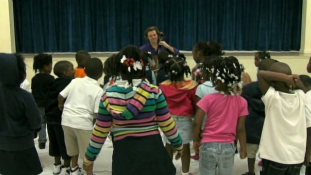 Orchestra engages kids with music