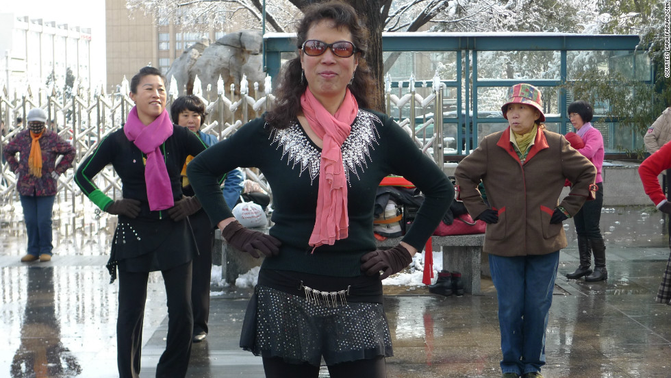 The dancers show that culture in China's capital is, above all, resilient.