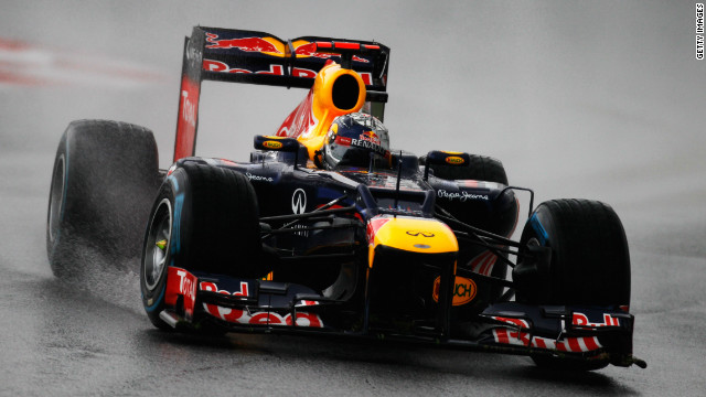 Red Bull's Sebastian Vettel became the youngest double world champion in Formula One's history with his triumph last season.