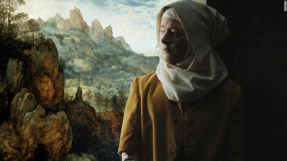 """Actress Charlotte Rampling plays Mary in """"The Mill and the Cross."""""""