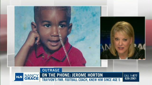 Trayvon Martin's former coach speaks