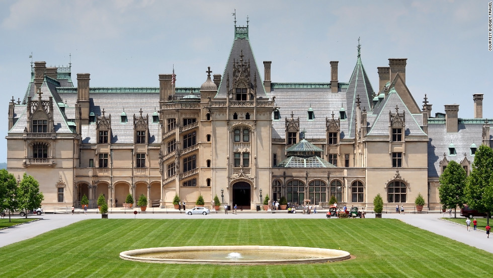 "The Biltmore Estate in Asheville, North Carolina. <a href=""http://www.budgettravel.com/slideshow/photos-beautiful-homes-gardens,8328/?cnn=yes"" target=""_blank"">See the full gallery on Budget Travel</a>"