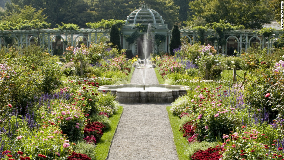 The Old Westbury Gardens in Old Westbury, New York