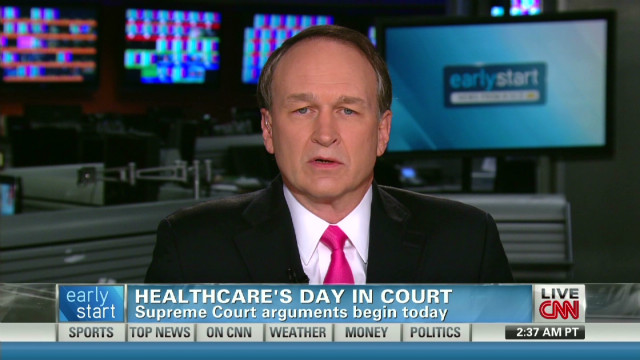 Health care on Supreme Court's agenda