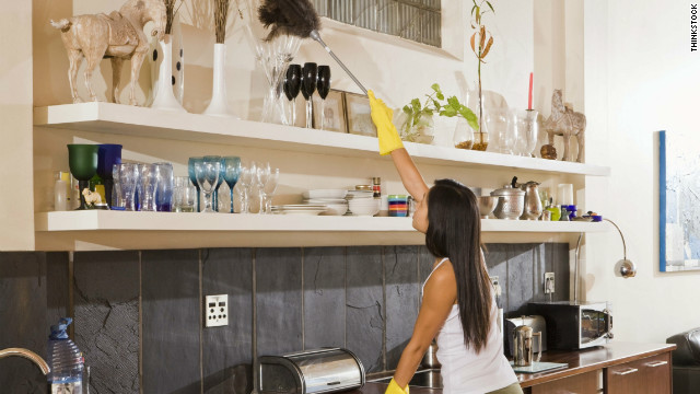 Don't have time for a serious cleaning? Fake it until you make it.