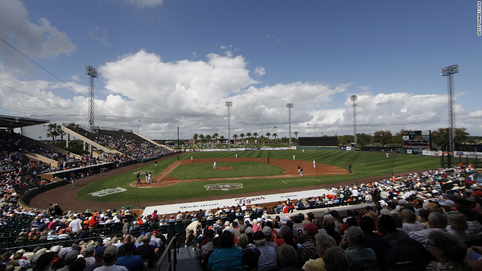 The Detroit Tigers have been playing in Lakeland, Florida for 76 years. The city's Joker Marchant Stadium has been the team's spring training home for 47 seasons.