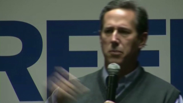 Santorum bashes Obama over whispering