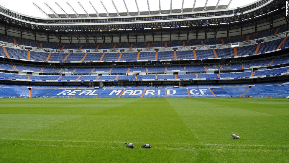 The contrast between the two teams is obvious when looking at their respective stadiums. Real Madrid play at an 85,000-seater ground in the Spanish capital, which is named after the club's former chairman Santiago Bernabeu.