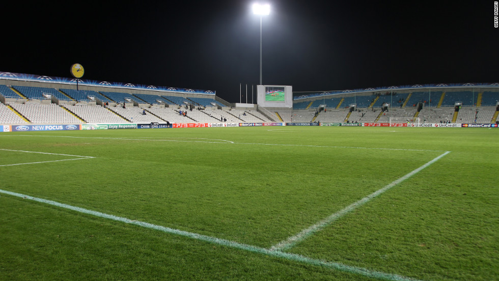 APOEL's GSP Stadium in Nicosia is modest by comparison, with a capacity of just 22,859.