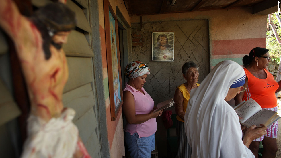 Mission houses serve as churches in many rural parts of Cuba because of the lack of government-sanctioned churches in the communist country.