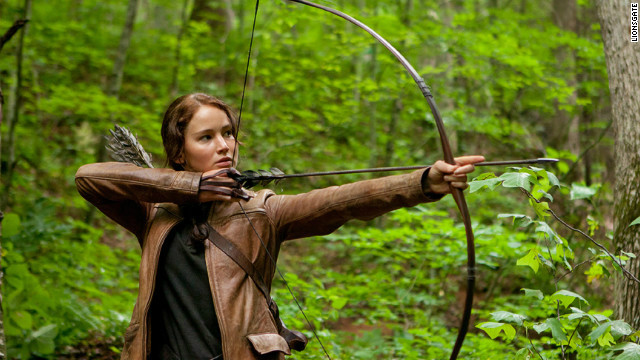 "Like ""The Hunger Games'"" Katniss, played by Jennifer Lawrence, competitors on ""The Hunt"" will have to rely on survival skills."