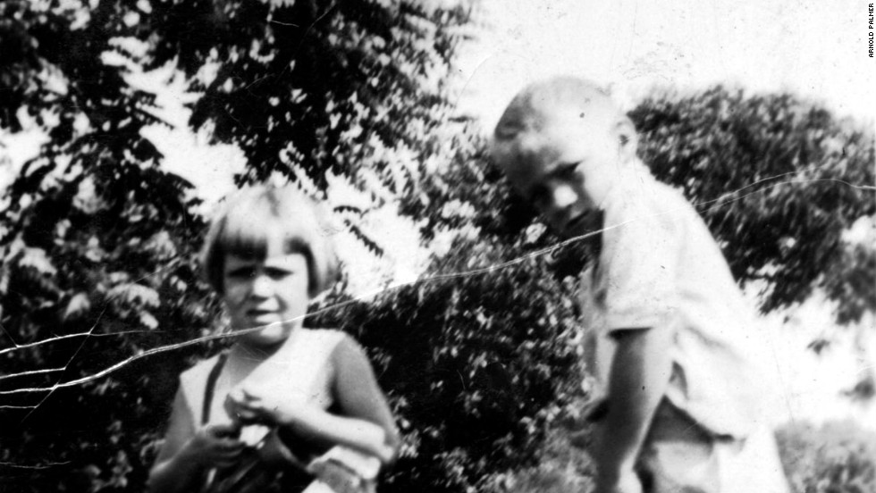 Palmer and his two sisters were introduced to golf at an early age because their father was head professional and greenskeeper at Latrobe Country Club, Pennsylvania. A young Arnie was handed his first clubs, aged four, which Milfred Palmer specially cut down for him.