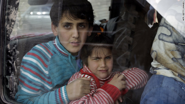 Children bear the brunt of war in Syria