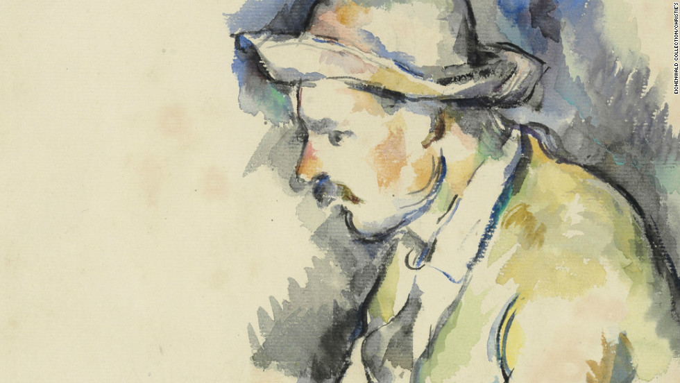 "A study for Paul Cezanne's master work ""The Card Players,"" missing for decades, has been rediscovered among the paintings of a Texas art collector, and will be sold at auction later this year."