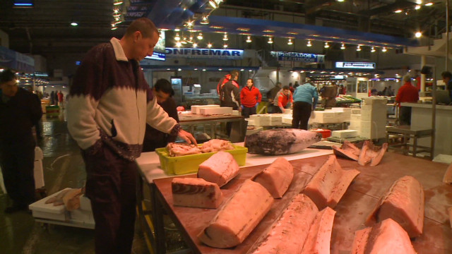 Strike to target Madrid fish market