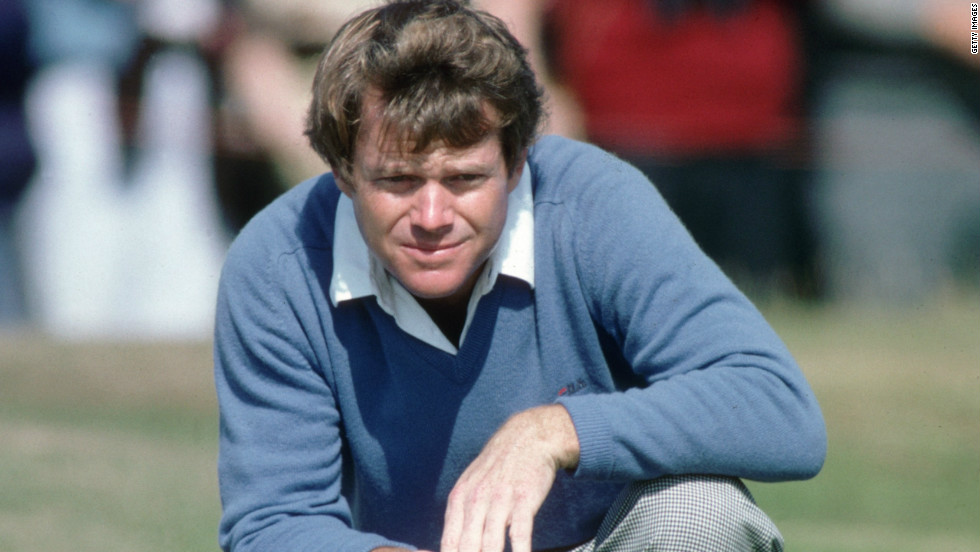 Nobody plays modern links golf like Tom Watson. Five-times a British Open champion, Watson nearly joined Vardon on six wins in 2009 when, at the age of 59, he missed out in a heartbreaking playoff. In 1982 he was at his height, winning both the British and U.S. Opens.