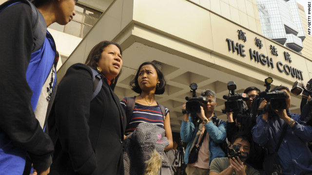 Hong Kong maids vow to fight court ruling