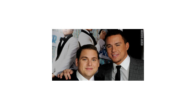 "Jonah Hill and Channing Tatum at the ""21 Jump Street"" premiere."