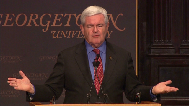 Gingrich: My daughters were janitors